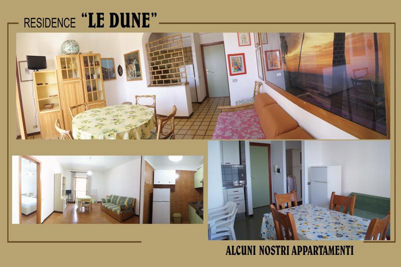 gli appartamenti del residence | residence gallipoli le dune